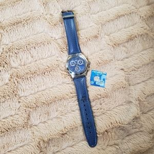 Swatch Irony Watch Blue Extra Battery 0251
